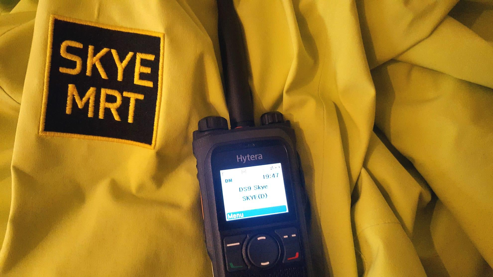Skye MRT communication equipment