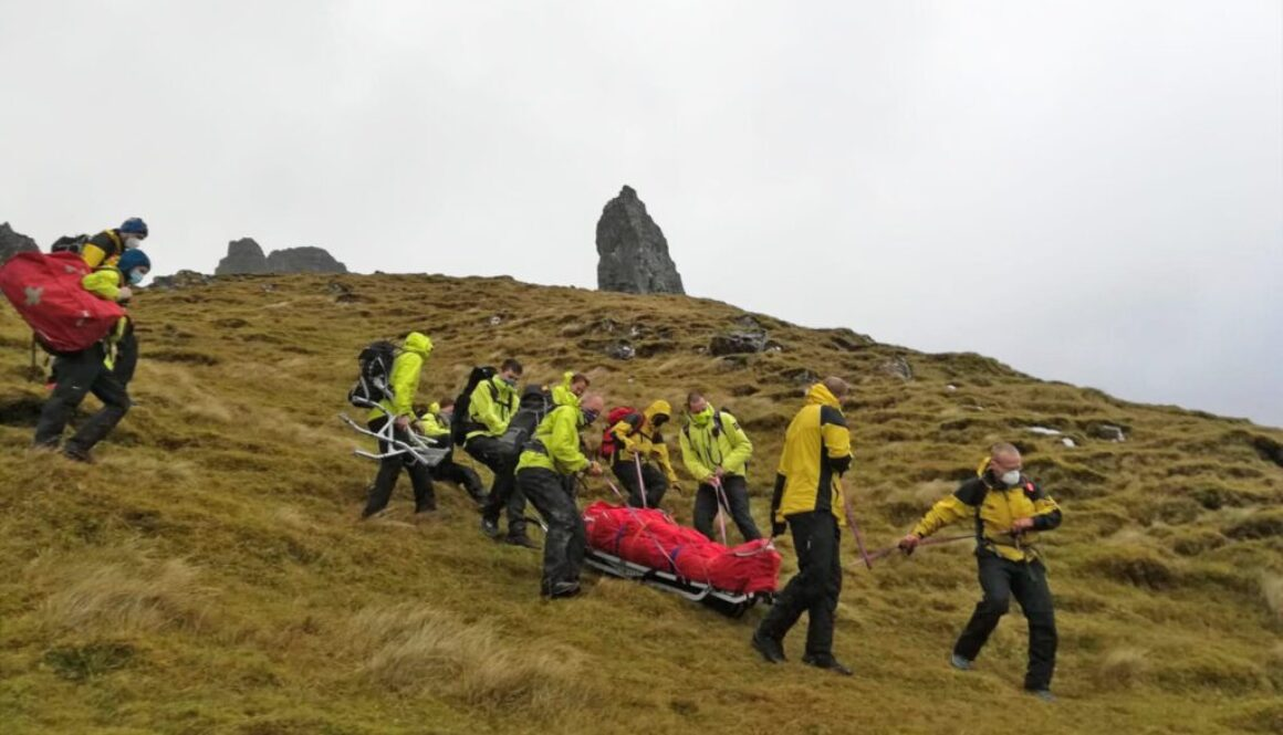 Rescue at Storr