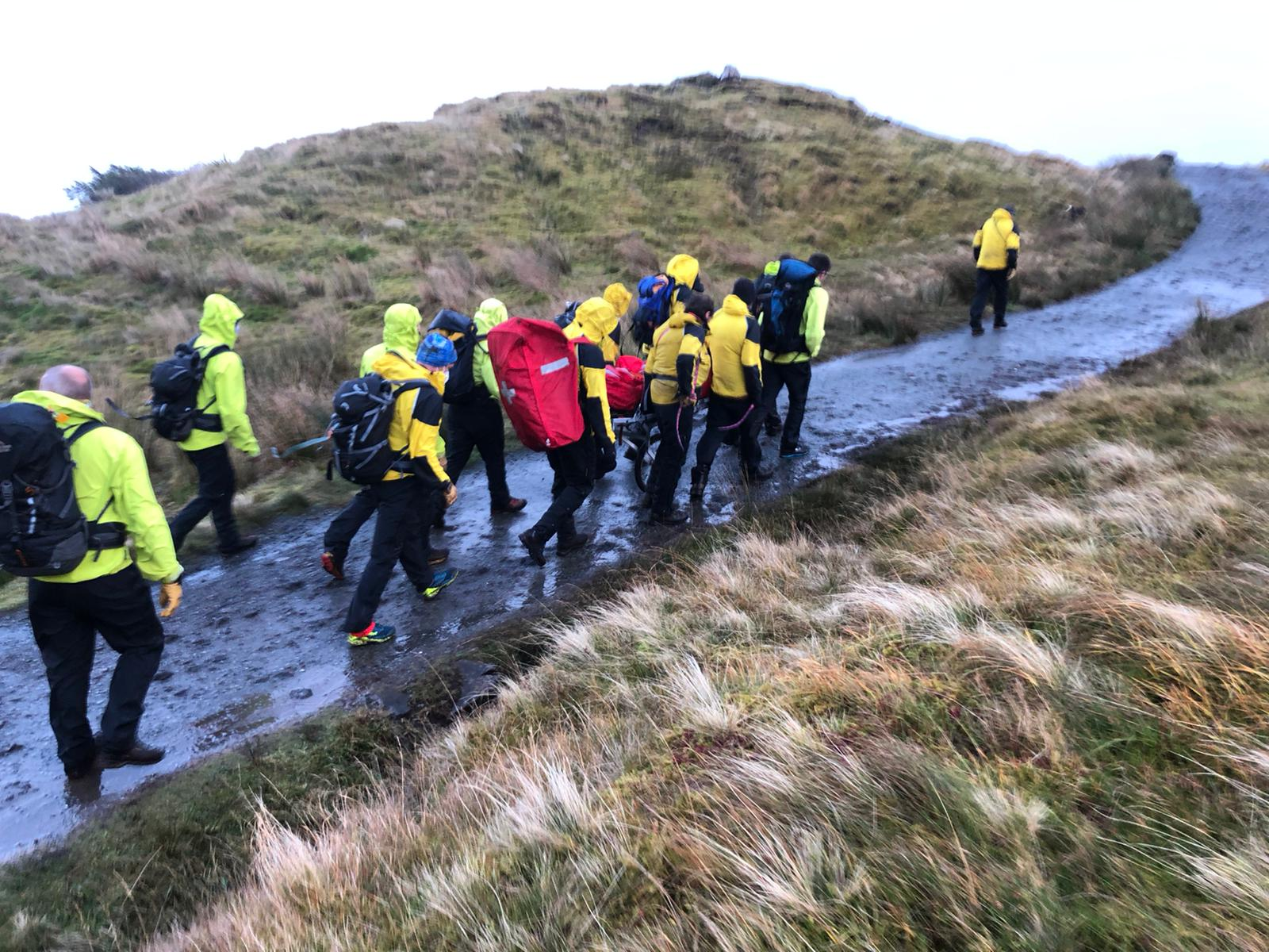 Rescue at the Old Man of Storr